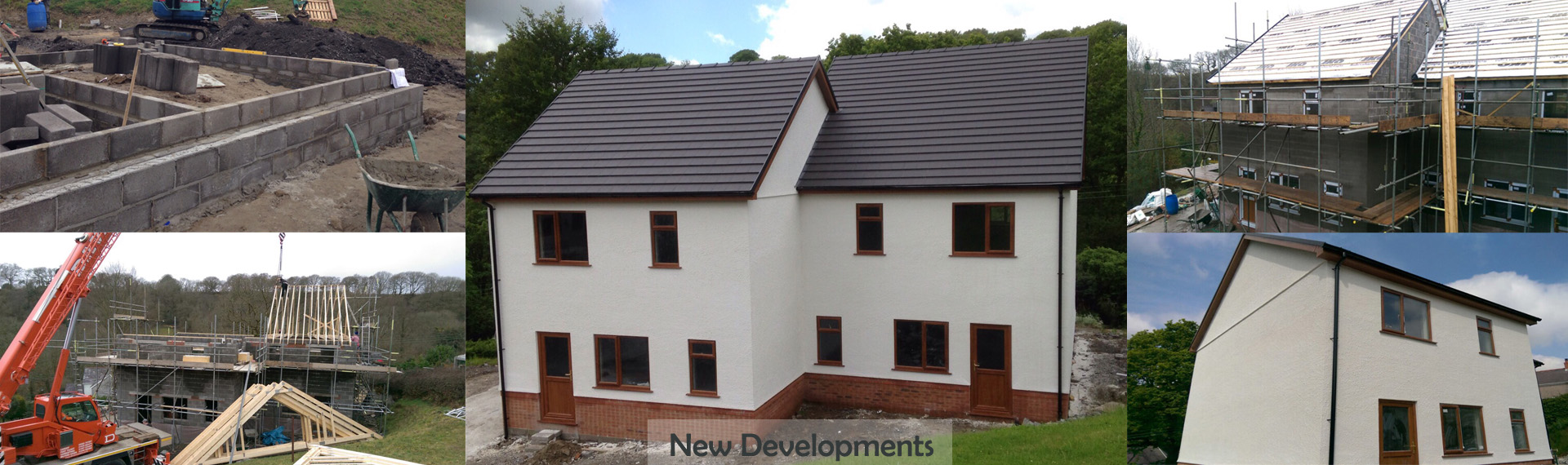 New Developments by S&A Building Contractors in Neath, Port Talbot, Swansea, Porthcawl, Bridgend.