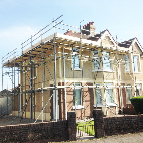 Scaffolding services in Swansea